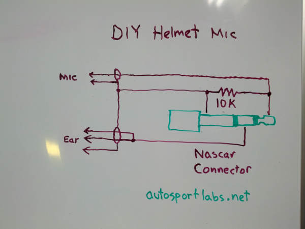 Nascar headphone jack wiring diagram