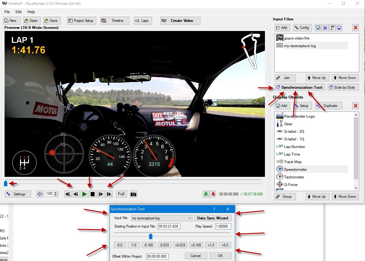 RaceCapture RaceRender Guide - Autosport Labs