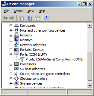 File:Windows device manager screenshot showing com ports.png
