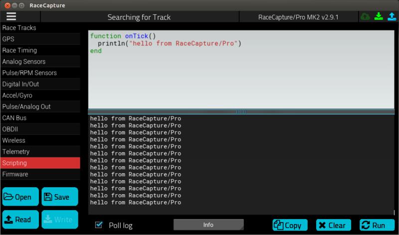 RaceCapturePro Lua Scripting - Autosport Labs